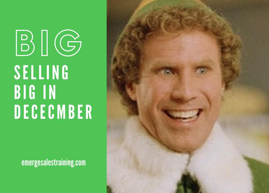 Selling Big in December