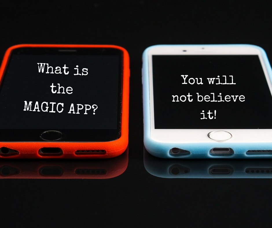The magic app that will help you hit all of your 2017 Majic app