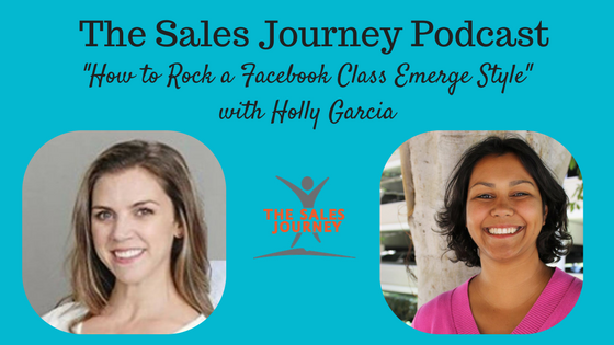 #84 How to Rock a Facebook Class Emerge Style with Holly Garcia