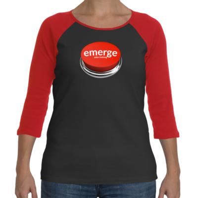 Women's Emerge Button T-shirt