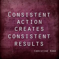 #162 Power of Consistency