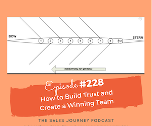 #228 How to Build Trust and Create a Winning Team