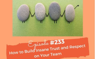 #233 How to Build Insane Trust and Respect On Your Team
