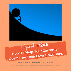 #246 How To Help Your Customer Overcome Their Own Objections