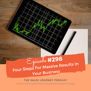 #298 Four Steps For Massive Results In Your Business