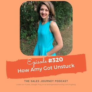 #320 How Amy Got Unstuck