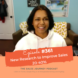 #361 New Research to Improve Sales 20-40%