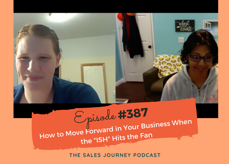 "How to Move Forward in Your Business When the ""ISH"" Hits the Fan #387"