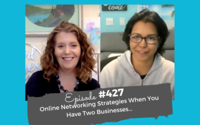 Live coaching: Online networking strategies when you have 2 businesses